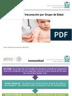 5.-Esquema de Vacunación Por Grupo de Edad