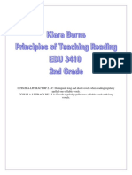 teaching reading unit plan