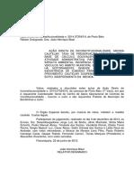 Acórdão - Taxa Pedágio Ambiental Bombinhas