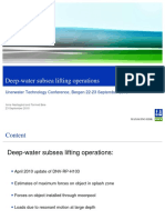 1 Arne Nestegård UTC2010-Deep-water Subsea Lifting Operations