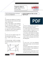 Std 5 Ganit Pravinya 2014 Test Paper