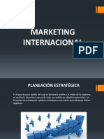 Planeación Del Marketing Internacional.