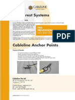 Cableline Anchor Points