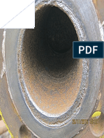 Corrosion at Flange Face