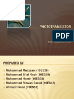 85040761 Photo Transistor