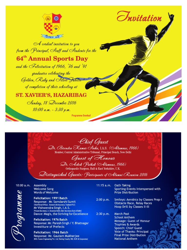 Sports day invitation 2016 pdf pree stopboris Images