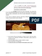 ENFERMEDADES Y BASES DE DATOS DE SECRETARIA DE SALUD