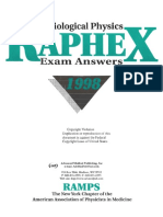 Raphex 1998 Answers