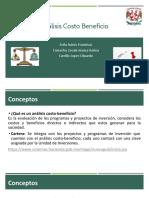 Presentación Análisis Costo Beneficio