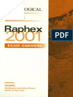 Raphex 2001 Answers