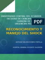 Manejo de Shock Pediatría