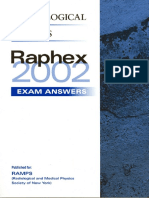 Raphex 2002 Answers