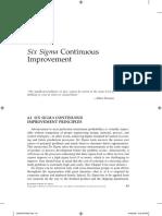 Six Sigma Cont Improve