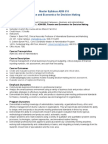 ADM 510 Finance Economics