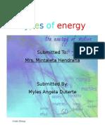 Myles Angela Project