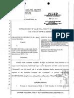 Cirgadyne Inc. DBA Liquor License Specialists v. Russell Bloom - Answer
