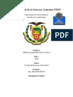 Ensayo Mecatronica en El Ecuador