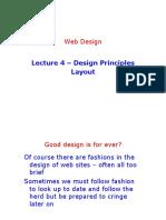 Lecture 4 - Design Principles Layout
