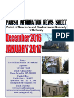 Newcastle Parish Newsletter Dec 2016 & Jan 2017