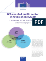 ICT EnabledPublicSectorInnovationinH2020
