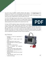 EPOCH 600 Ultrasonic Flaw Detector