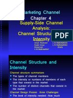 Marketing Channel - Ch-4- Channel Structure and Intensity