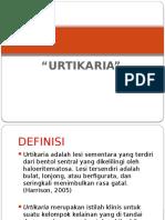 TR 3 Urtikaria Pptx