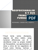 Neopsicoanalisis y Sus Principales Fundadores