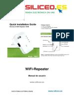 Wifi Repeater 300 Siliceo 7w211-Español
