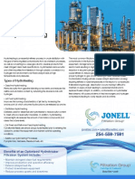 Filtration Applications in Hydrotreating