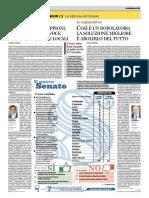 VERSO IL REFERENDUM / 2 La riforma costituzionale