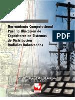 ubicacion de bancos de condensadores en sistemas de distribucion
