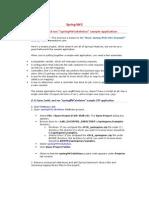 Build Spring MVC Sample Application