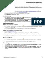 GoToMeeting Organizer QuickRef Guide