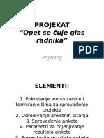 Prijedlog za projekat Opet se cuje glas radnika.ppt