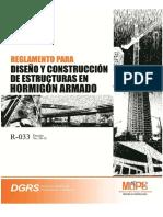 R-033-2012 Diseño de Edificios en Concreto Armado