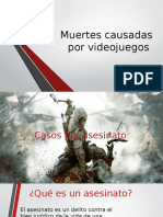 Muertes Causadas Por Videojuegos