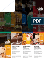VOK Liqueurs Cocktails
