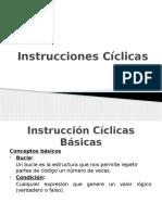 INSTRUCCIONES CICLICAS