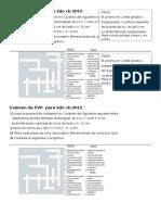 Exámen de Educación Visual y Plástica Para 2do Cb 2015