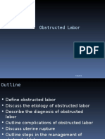 Obstructed Labor AND ITS CAUSE, CORD PROLAPS AND PRESENTATION.ppt