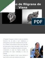 Coração de filigrana de Viana+quilling