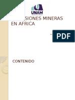 Inversiones Mineras en Africa