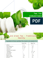 Tea Product Develompent