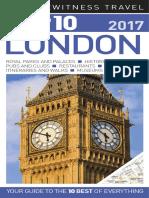 DK Eyewitness Top 10 Travel Guide - London 2017 (2016)
