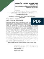 Cómo Cobrar Costos y Costas - Modelo de Escrito Judicial de Cobro de Costas y Costos