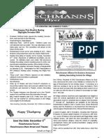 Fleischmanns Flyer November 2016