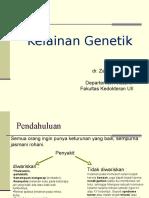 Dr Zainuri_Kelainan Genetik
