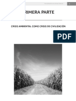 CRISIS AMBIENTAL COMO CRISIS DE CIVILIZACIÓN