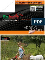 Rebuilt Prosthetic & orthotic  Catalogue